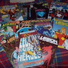 Cómics: IMPRESIONANTE LOTE DE 13 CÓMICS DC-ED-ZINCO,HELLBLAZER,STARMAN,MISTER MIRACLE,FIRESTORM,LEGIÓN DE.... Lote 47244275