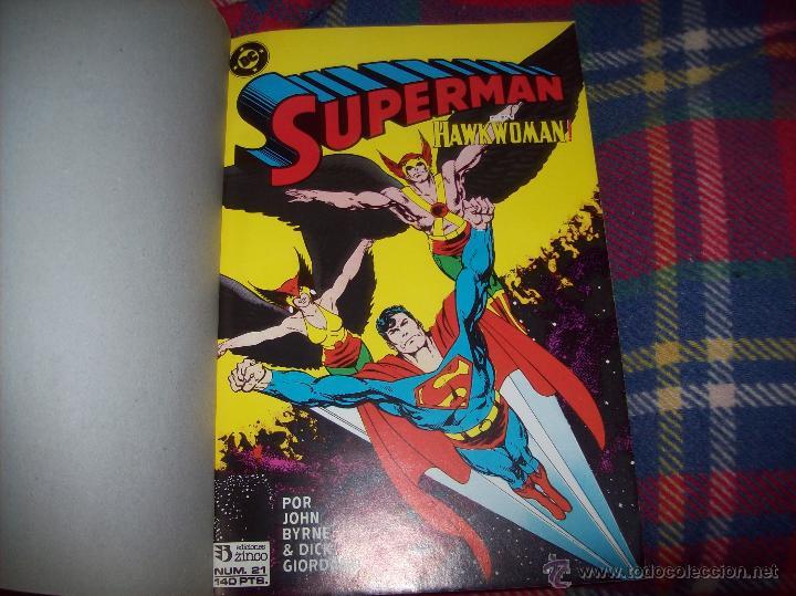 Cómics: MAGNÍFICO TOMO DE SUPERMAN QUE CONTIENE LOS Nº 21 AL 25. DC-ED.ZINCO. VER FOTOS. - Foto 2 - 47342781