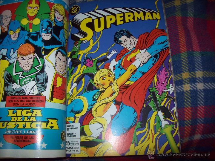 Cómics: MAGNÍFICO TOMO DE SUPERMAN QUE CONTIENE LOS Nº 21 AL 25. DC-ED.ZINCO. VER FOTOS. - Foto 4 - 47342781