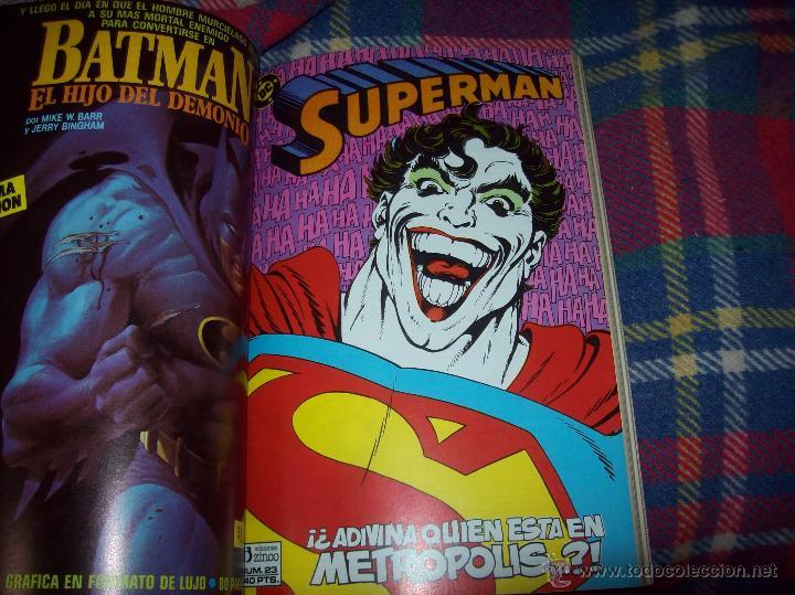 Cómics: MAGNÍFICO TOMO DE SUPERMAN QUE CONTIENE LOS Nº 21 AL 25. DC-ED.ZINCO. VER FOTOS. - Foto 6 - 47342781