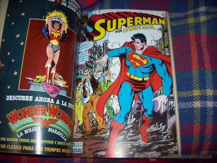 Cómics: MAGNÍFICO TOMO DE SUPERMAN QUE CONTIENE LOS Nº 21 AL 25. DC-ED.ZINCO. VER FOTOS. - Foto 8 - 47342781