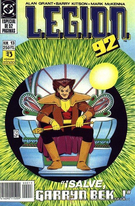 LEGION 91/92 LOTE DE 3 Nº 13-14-15 (Tebeos y Comics - Zinco - Legión 91)