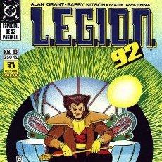 Cómics: LEGION 91/92 LOTE DE 3 Nº 13-14-15. Lote 47348712