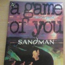 Cómics: SANDMAN UN JUEGO DE TI (A GAME OF YOU) Nº 4 DE 4 - ZINCO BUEN ESTADO. Lote 47393552