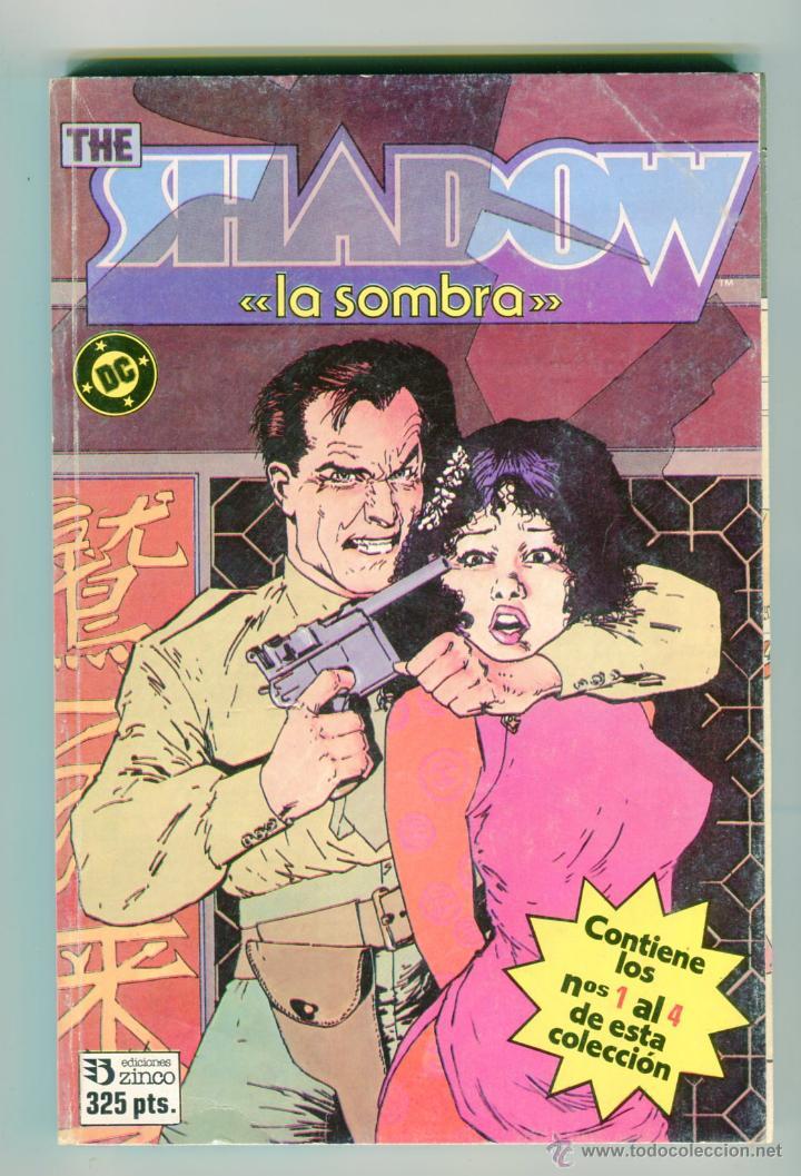 THE SHADOW -LA SOMBRA- TACO NUMEROS DEL 1 AL 4 AÑOS 80 (Tebeos y Comics - Zinco - Retapados)