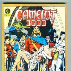 Cómics: CAMELOT 3000 TOMO II RETAPADO TACO AÑOS 80. Lote 47404955