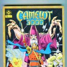 Cómics: CAMELOT 3000 TOMO 1 RETAPADO CON 5 CAPITULOS AÑO 1983 MUY BUEN ESTADO. Lote 47488334