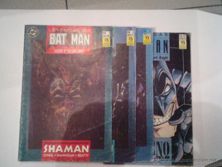 LEYENDAS DE BATMAN - 4 NUMEROS - CJ 7 (Tebeos y Comics - Zinco - Batman)
