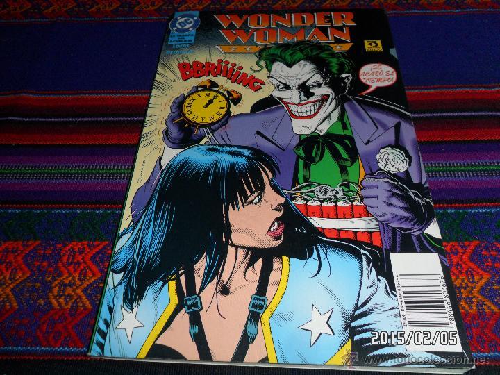 WONDER WOMAN Nº 2 LA TRAMPA DEL JOKER. ZINCO 1996. 775 PTS. BUEN ESTADO. (Tebeos y Comics - Zinco - Prestiges y Tomos)