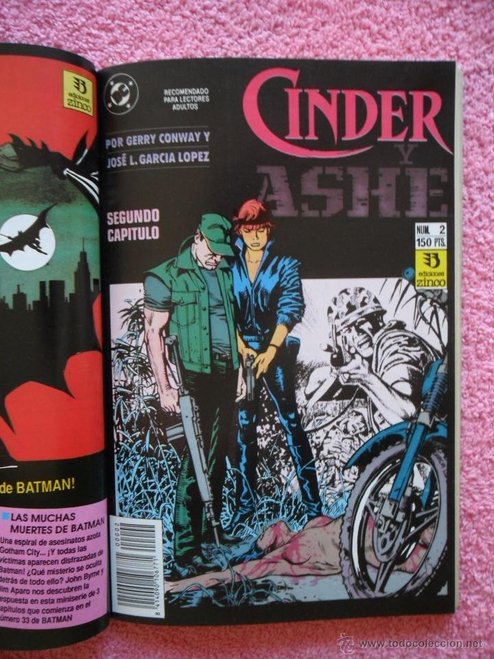 Cómics: cinder y ashe 1 2 3 4 ediciones zinco 1990 obra completa gerry conway garcía lópez - Foto 3 - 47631003