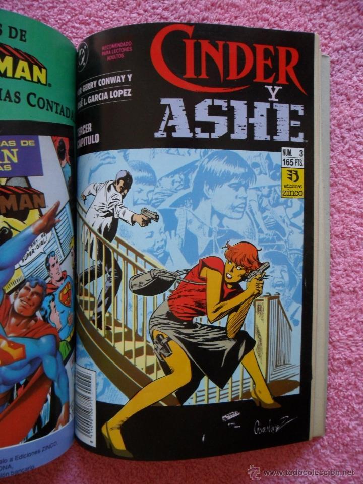 Cómics: cinder y ashe 1 2 3 4 ediciones zinco 1990 obra completa gerry conway garcía lópez - Foto 4 - 47631003