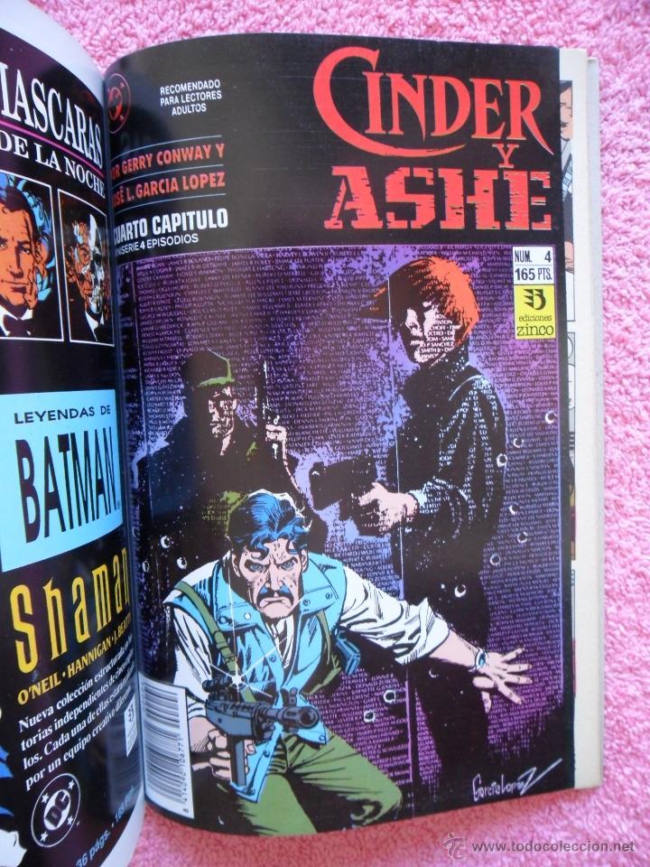 Cómics: cinder y ashe 1 2 3 4 ediciones zinco 1990 obra completa gerry conway garcía lópez - Foto 5 - 47631003