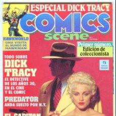 Cómics: COMICS SCENE Nº 1 EDICION COLECCIONISTA (DICK TRACY) AÑO 1990. Lote 47689105