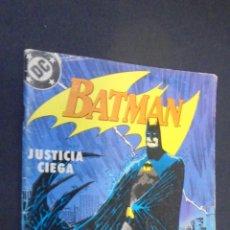 Cómics: BATMAN - Nº 3 - JUSTICIA CIEGA - DC - EDICIONES ZINCO.. Lote 47705770