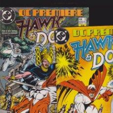Cómics: DC PREMIERE Nº 1 Y 2 HAWK & DOVE -EDITA : ZINCO DC. Lote 120024207