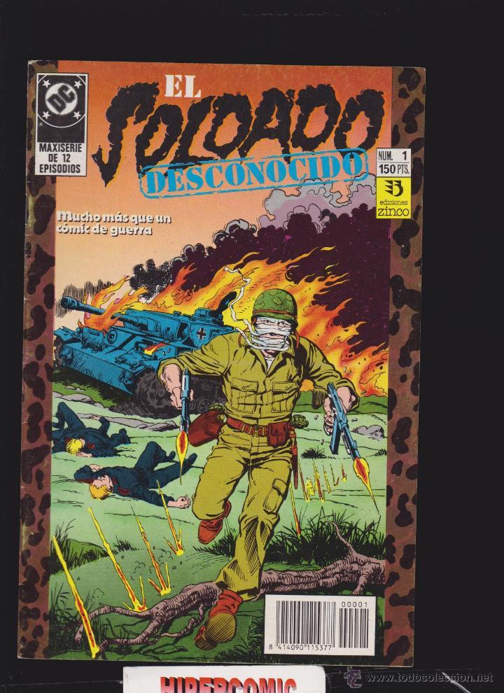 EL SOLDADO DESCONOCIDO, COLECCION COMPLETA 10 EJEMPLARES -EDITA : EDICIONES ZINCO (Tebeos y Comics - Zinco - Otros)