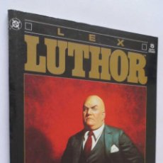 Cómics: LEX LUTHOR BIOGRAFIA NO AUTORIZADA EDICIONES ZINCO. Lote 70470318