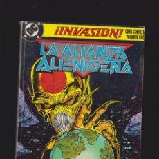 Cómics: INVASION TOMO RECOPILATORIO CONTIENE Nº 1,2,3,4, -EDITA : EDICIONES ZINCO. Lote 47818235