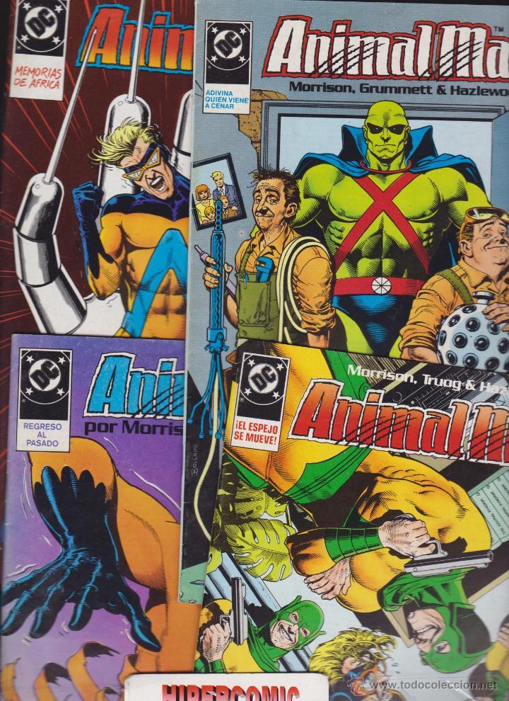 Cómics: ANIMAL MAN NUMEROS LOTE 15 EJEMPLARES 1,2,3,4,5,6,7,8,9,10,11,12,13, 16 y 24 ediciones Zinco - Foto 2 - 47822320