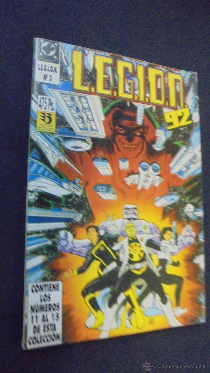 LEGION 92 - RETAPADO - Nº 3 - CONTIENE LOS NUMEROS 11 AL 15- ZINCO. (Tebeos y Comics - Zinco - Retapados)