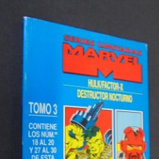 Cómics: SERIES LIMITADAS MARVEL - TOMO 3 - HULK/FACTOR X DE 1 AL 3 - NIGHT THRASHER DE 1 AL 4 - FORUM.. Lote 48061081