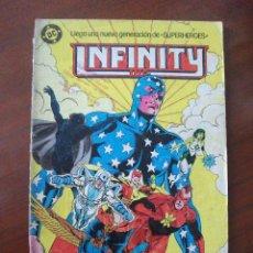 Comics: INFINITY INC Nº 8 ZINCO C3. Lote 48369349