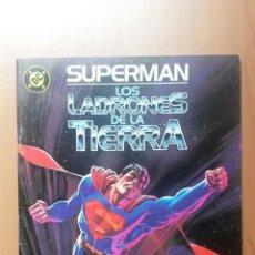 Cómics: SUPERMAN LOS LADRONES DE LA TIERRA. Lote 48417148