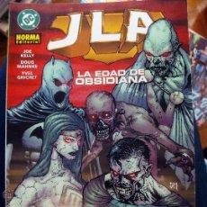 Cómics: LIGA DE LA JUSTICIA LA EDAD OBSIDIANA JLA PLANETA. Lote 48443386
