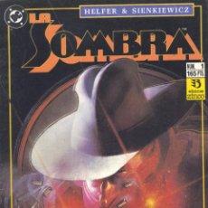 Cómics: LA SOMBRA Nº1. EDICIONES ZINCO, 1991. DIBUJOS DE SIENKIEWICZ. Lote 48504656