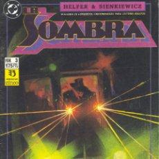 Cómics: LA SOMBRA Nº3. EDICIONES ZINCO, 1991. DIBUJOS DE SIENKIEWICZ. Lote 48504682