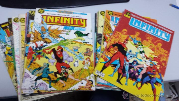 INFINITY INC. ¡LOTE 12 NUMEROS ! / ROY THOMAS - TODD MCFARLANE / DC - ZINCO (Tebeos y Comics - Zinco - Infinity Inc)