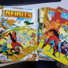 Cómics: INFINITY INC. ¡LOTE 12 NUMEROS ! / ROY THOMAS - TODD MCFARLANE / DC - ZINCO. Lote 42616808