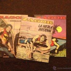 Cómics: LOTE ZAGOR - EDITORIAL ZINCO - 3 NÚMEROS 2-5-10 - MUY BUENOS DE TODO. Lote 48577602