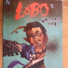 Cómics: LOBO GREATEST HITS - DC ZINCO - AÑO 1993. Lote 48638152