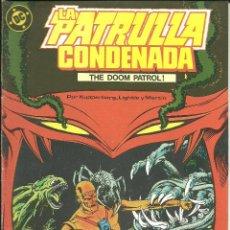Cómics: LA PATRULLA CONDENADA NÚMERO 2 EDICIONES ZINCO DC CÓMICS. Lote 48729231