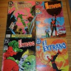 Cómics: EL EXTRAÑO (BERNI WRIGHTSON - JIM STARLIN) SERIE COMPLETA DE 4 NÚMEROS. Lote 48807136