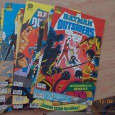 Cómics: LOTE 11 COMIC BATMAN Y LOS OUTSIDERS EDITORIAL ZINCO 1986. Lote 48837685