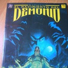 Cómics: BATMAN EL NACIMIENTO DEL DEMONIO (ZINCO, 1993). Lote 48867505
