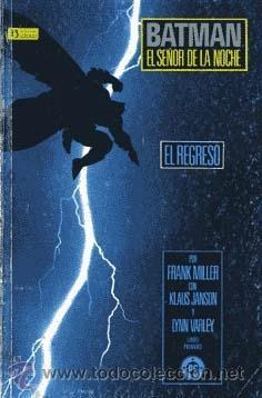 BATMAN EL SEÑOR DE LA NOCHE COMPLETA 4 PRESTIGIO. FRANK MILLER PREMIO HAXTUR CAJA 74-C,2O C,22+ BIBL (Tebeos y Comics - Zinco - Batman)