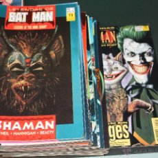 Cómics: LEYENDAS DE BATMAN COMPLETA DEL 1 AL 44 ZINCO. Lote 48970561