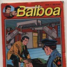 Cómics: BALBOA Nº 4. TACO 96 PÁGINAS.. Lote 48982576