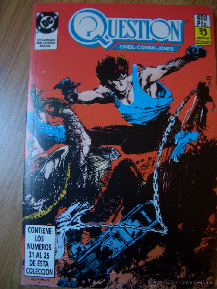 THE QUESTION #21-25 (RETAPADOS) (ZINCO, 1990+) (Tebeos y Comics - Zinco - Retapados)