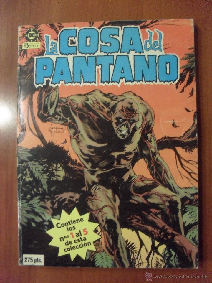 LA COSA DEL PANTANO, RETAPADO 1 AL 5, ZINCO (Tebeos y Comics - Zinco - Cosa del Pantano)