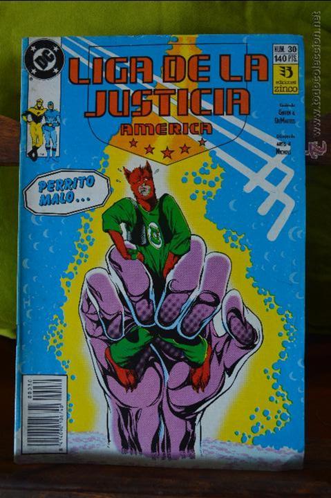 LIGA DE LA JUSTICIA AMERICA 30 - ZINCO - DC (Tebeos y Comics - Zinco - Liga de la Justicia)