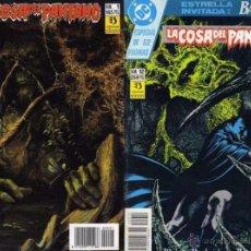 Comics: LA COSA DEL PANTANO DE ALAN MOORE (VOL. 4 COMPLETO) NÚMEROS 1 A 12. Lote 105083643