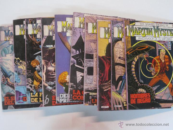 MARTIN MYSTERE Nº 1 AL Nº 10 . EDICIONES ZINCO 1982. (Tebeos y Comics - Zinco - Otros)