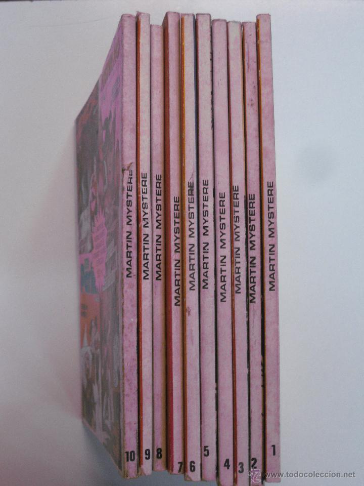 Cómics: MARTIN MYSTERE Nº 1 AL Nº 10 . EDICIONES ZINCO 1982. - Foto 2 - 49338542