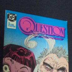 Comics: QUESTION, Nº 19. EDICIONES ZINCO.. Lote 49385356