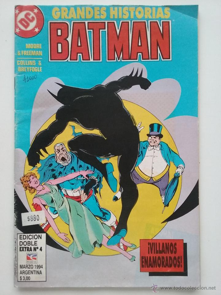 GRANDES HISTORIAS BATMAN - EXTRA Nº 4 - DC COMICS - ARGENTINA - 1994 (Tebeos y Comics - Zinco - Batman)