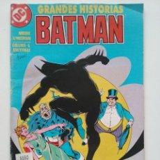 Cómics: GRANDES HISTORIAS BATMAN - EXTRA Nº 4 - DC COMICS - ARGENTINA - 1994. Lote 49385797
